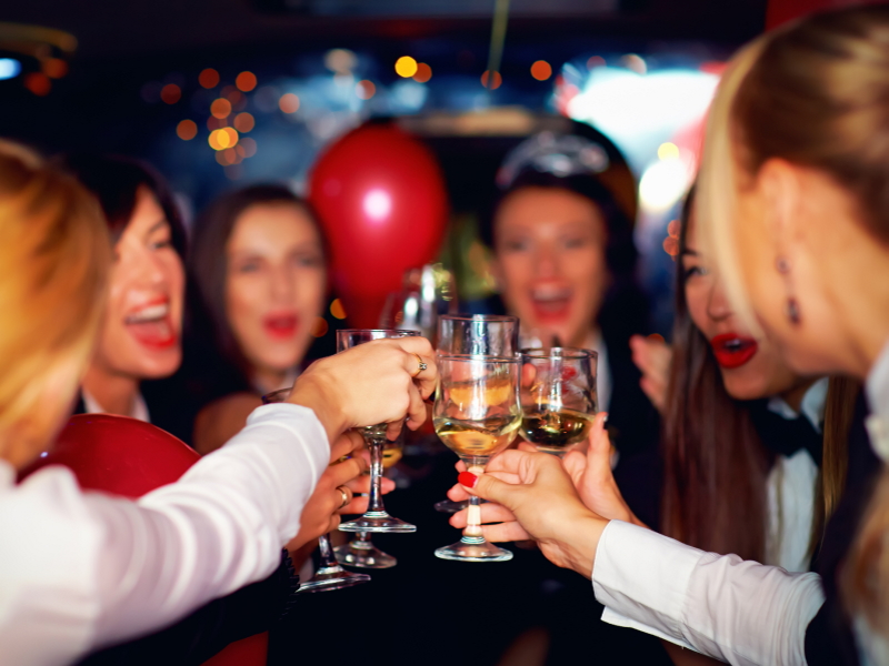 Travelling to a party by minibus Taxi