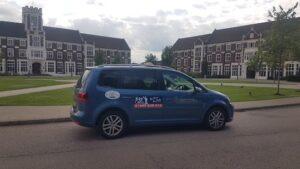 Kaycabs Cab at Loughborough University